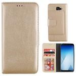 Colorfone Wallet Case A8+ 2018 Goud
