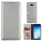 Colorfone Wallet Case A8+ 2018 Zilver