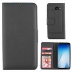 Colorfone Wallet Case A8+ 2018 Zwart
