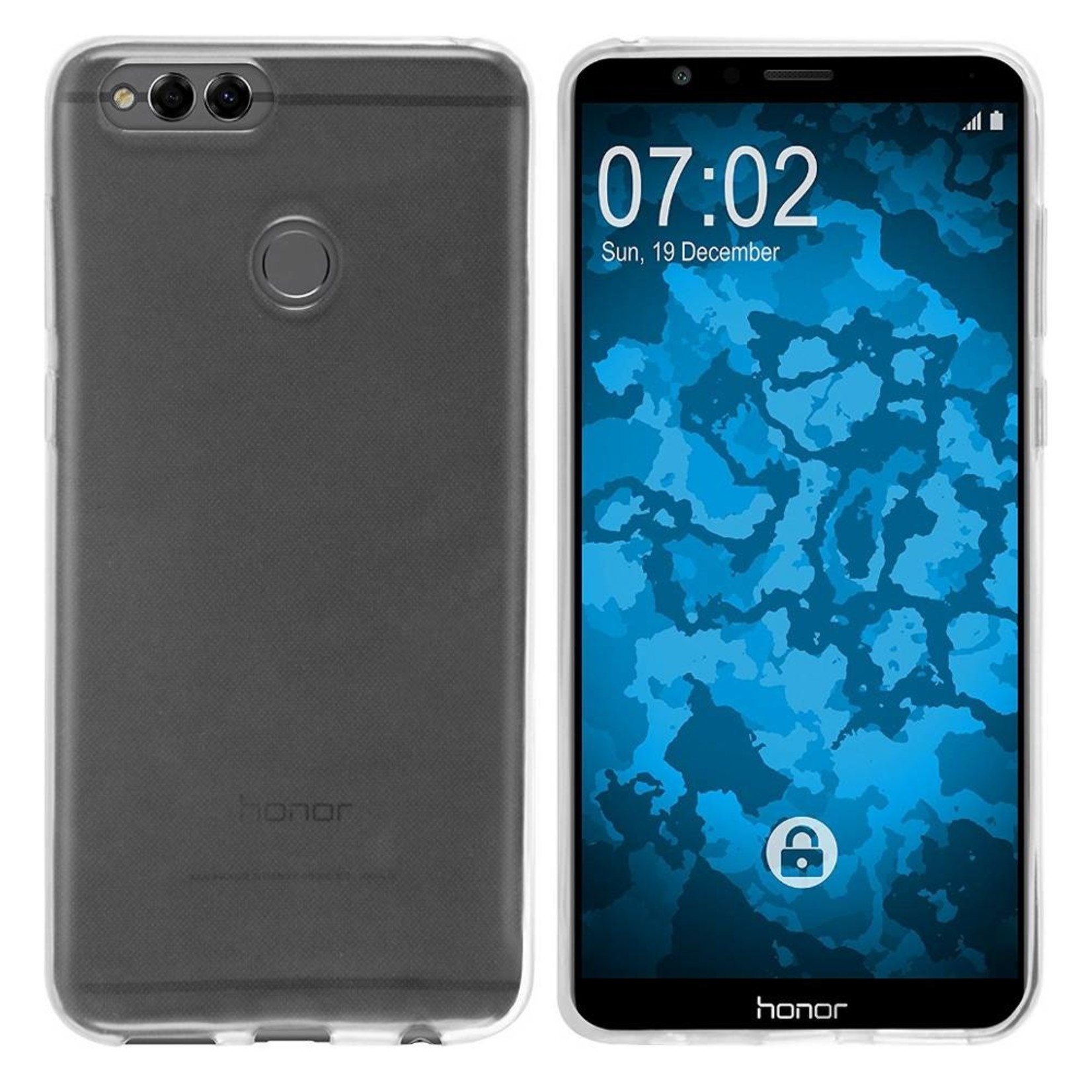 Colorfone Hoesje Coolskin3T voor Huawei Honor 7X  Transparant Wit