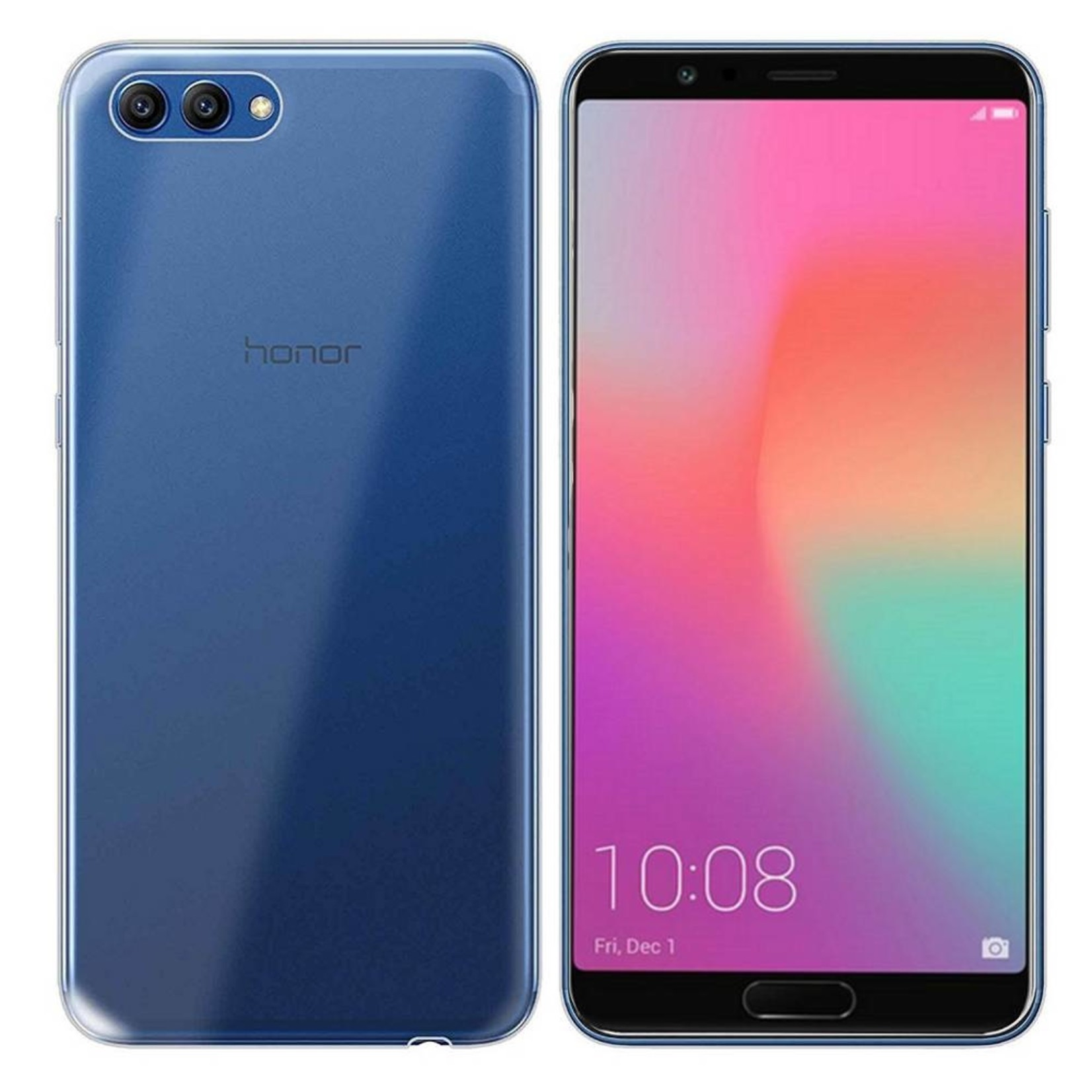Colorfone Hoesje CoolSkin3T voor Huawei Honor View 10 Tr. Wit