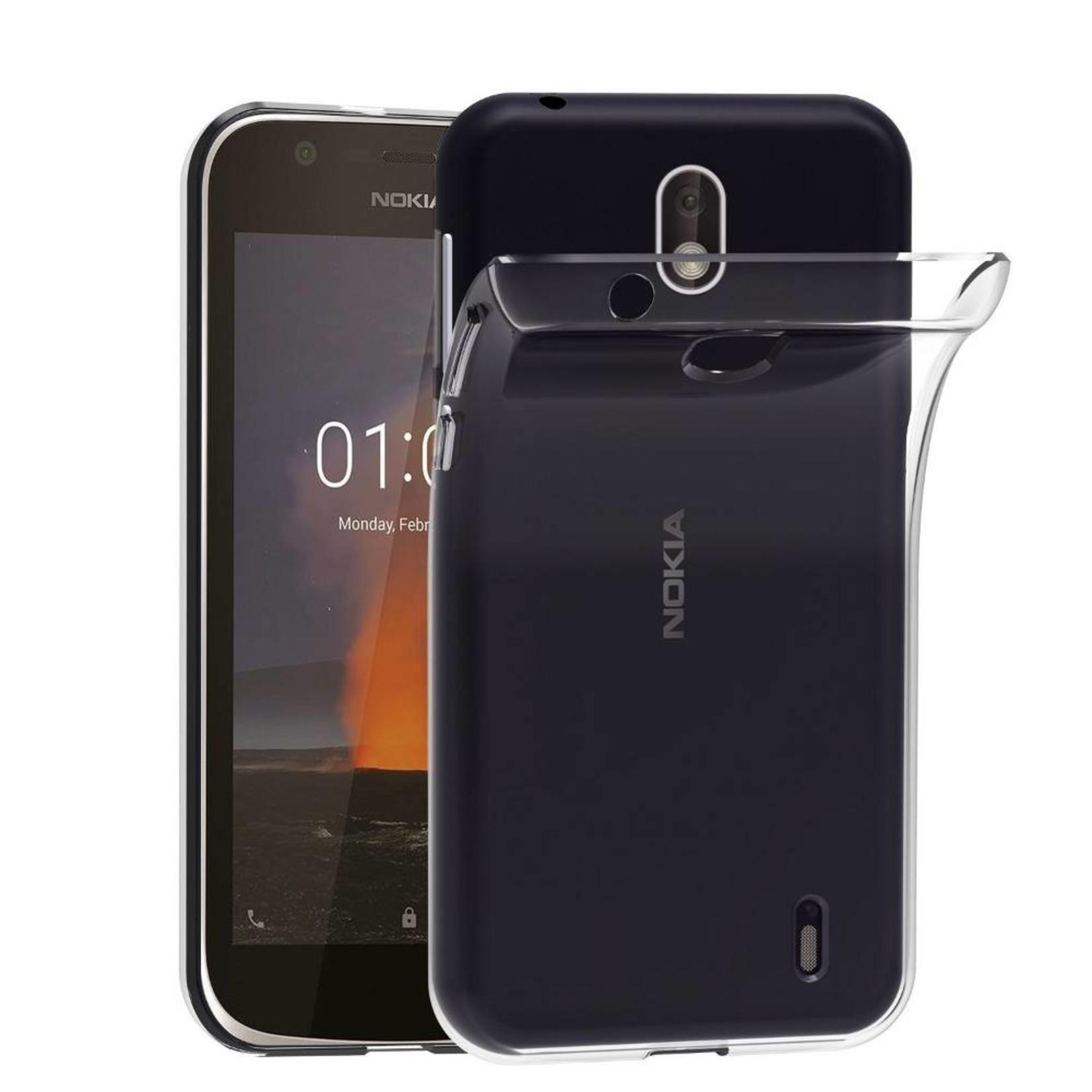 Colorfone Hoesje CoolSkin3T voor Nokia 1 Tr. Wit