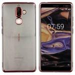 Colorfone Bumper Clear Nokia 7 Plus Rosé Goud