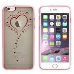 Colorfone Bumper Clear iPhone 6 Plus/6S Plus Hart Rosé Goud