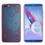 Colorfone Bumper Clear Honor 9 Lite Flower Rosé Goud