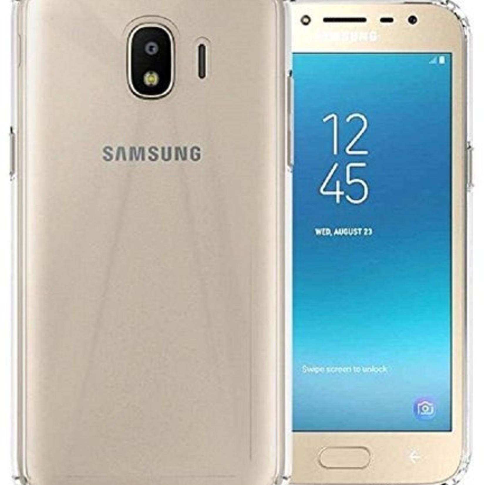 Colorfone Hoesje CoolSkin3T voor Samsung J4 2018 Transparant Wit