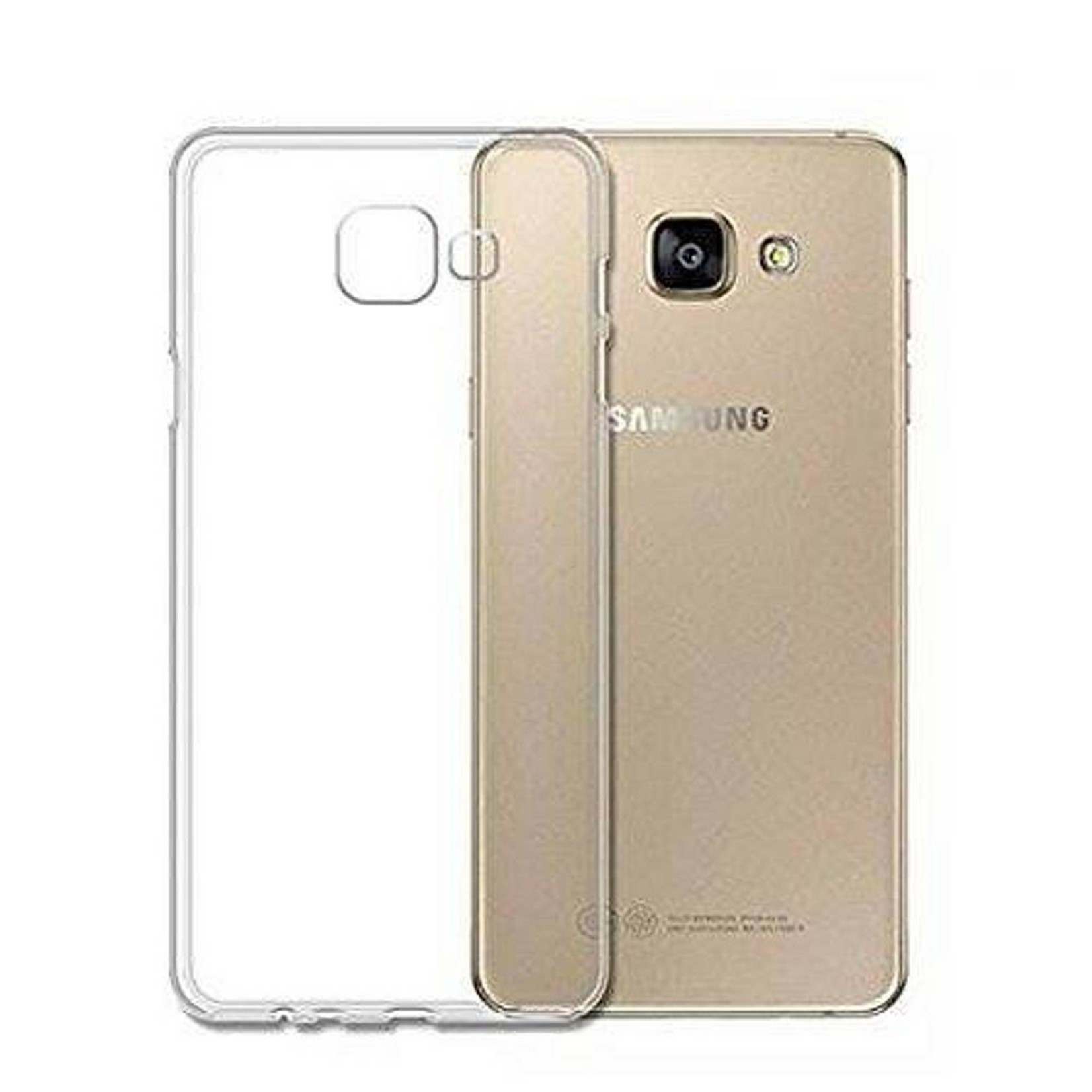 Colorfone Hoesje CoolSkin3T voor Samsung J7 Max Transparant Wit