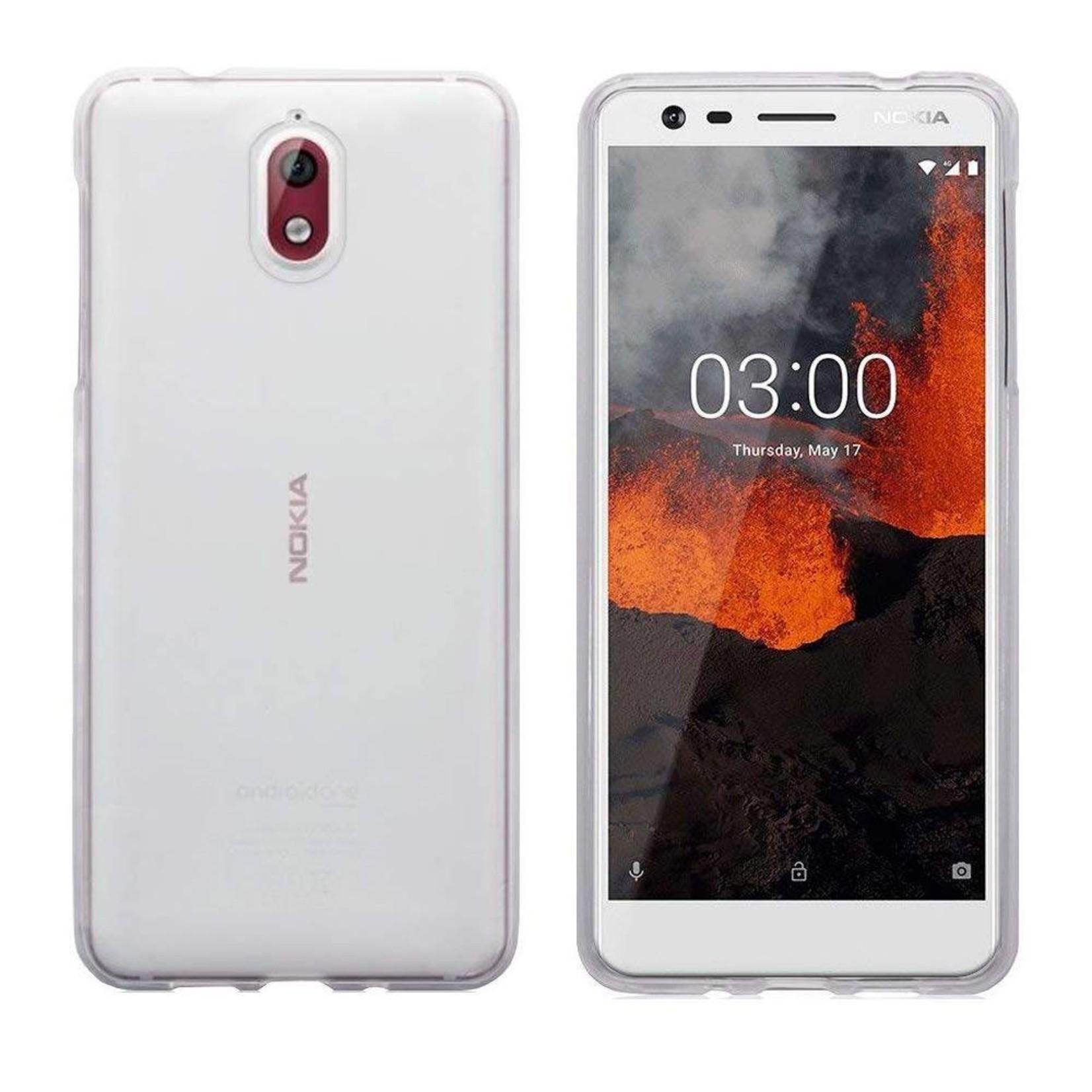 Colorfone Hoesje CoolSkin3T voor Nokia 3.1 Tr. Wit
