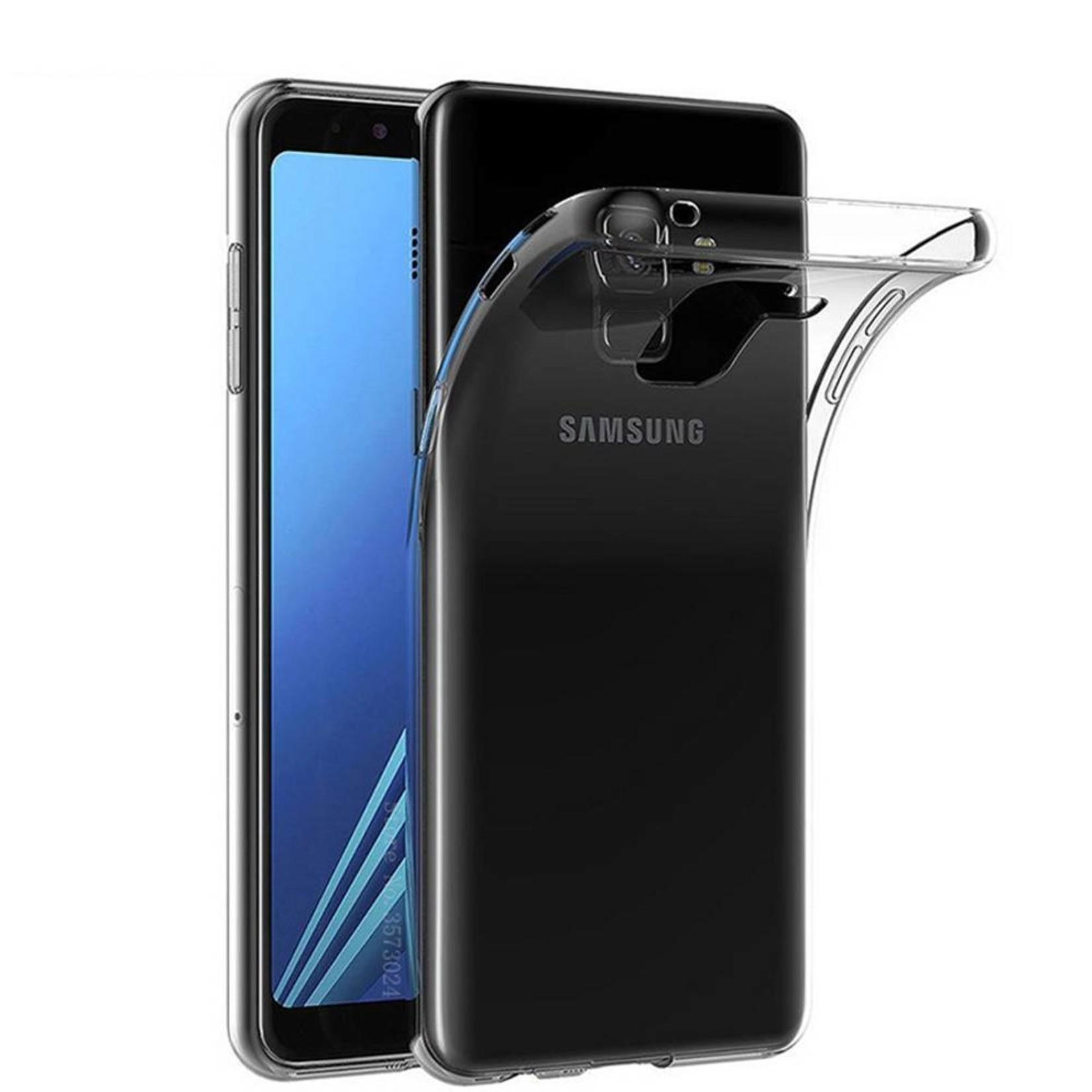 Colorfone Hoesje CoolSkin3T voor Samsung J8 Transparant Wit