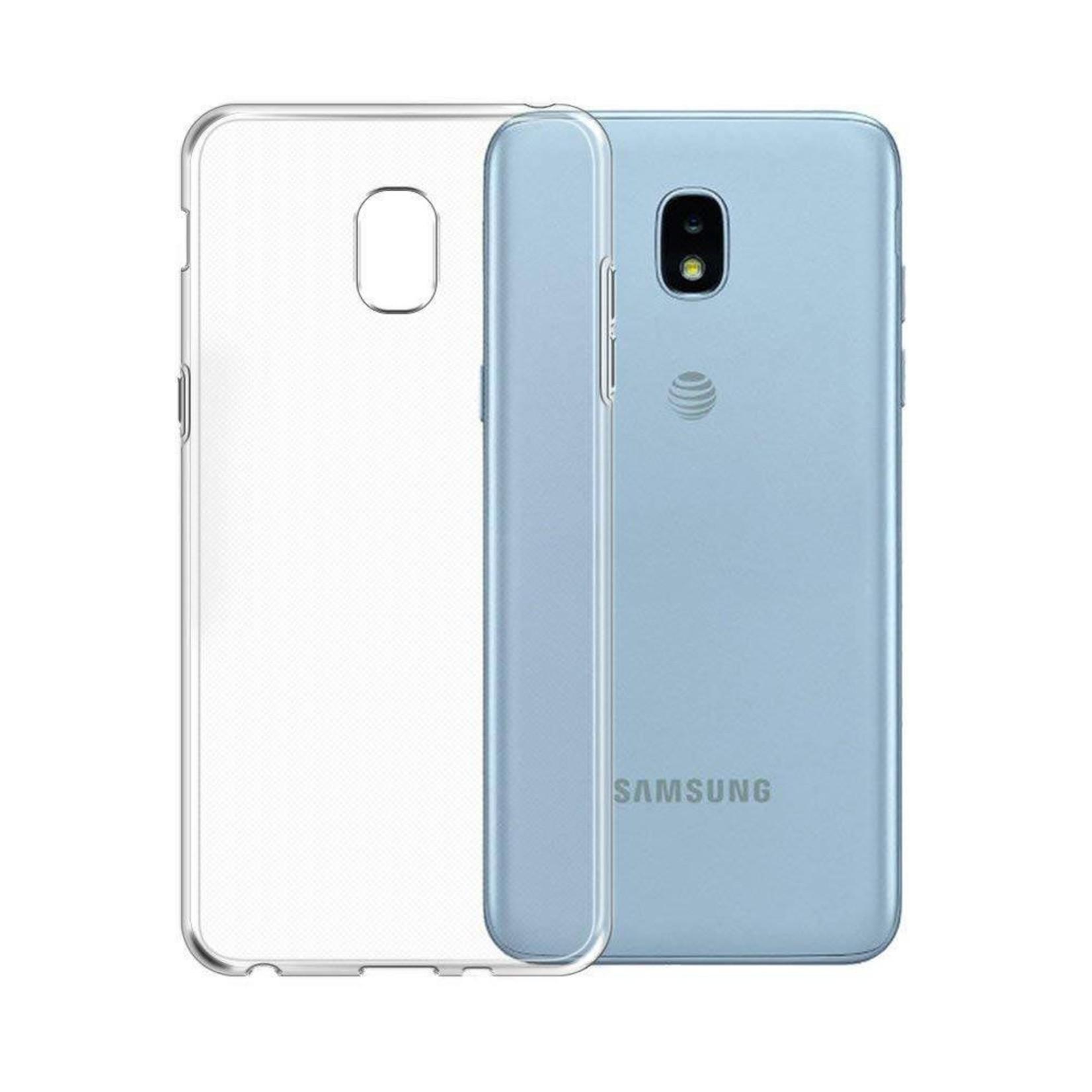 Colorfone Hoesje CoolSkin3T voor Samsung Galaxy J3 2018 Tr. Wit