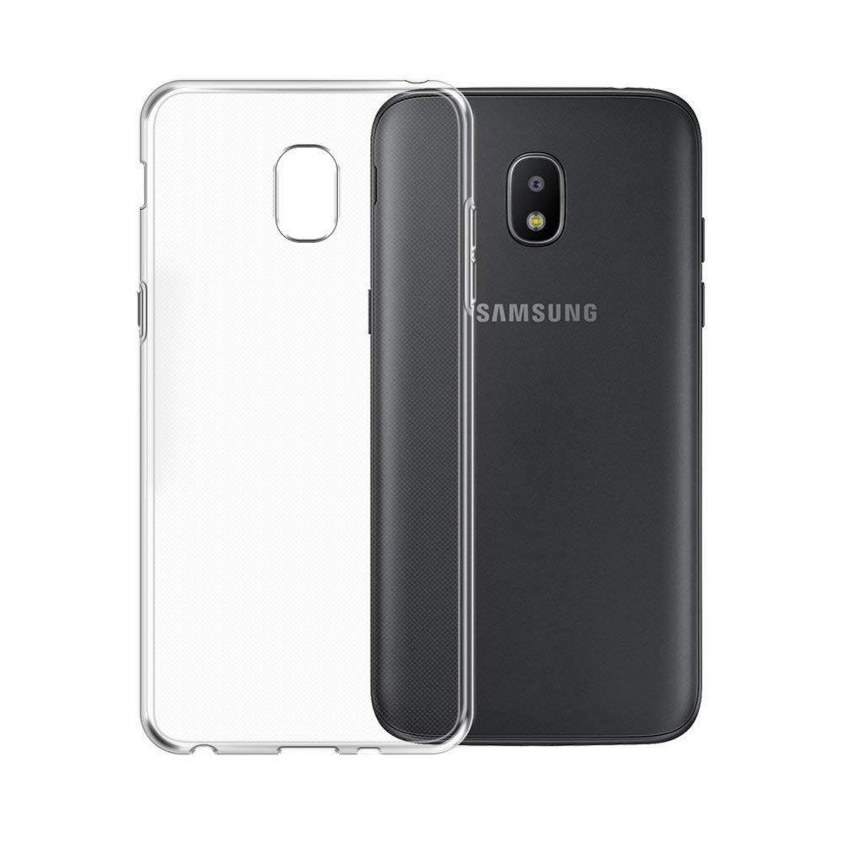 Colorfone Hoesje CoolSkin3T voor Samsung Galaxy J7 2018 Tr. Wit
