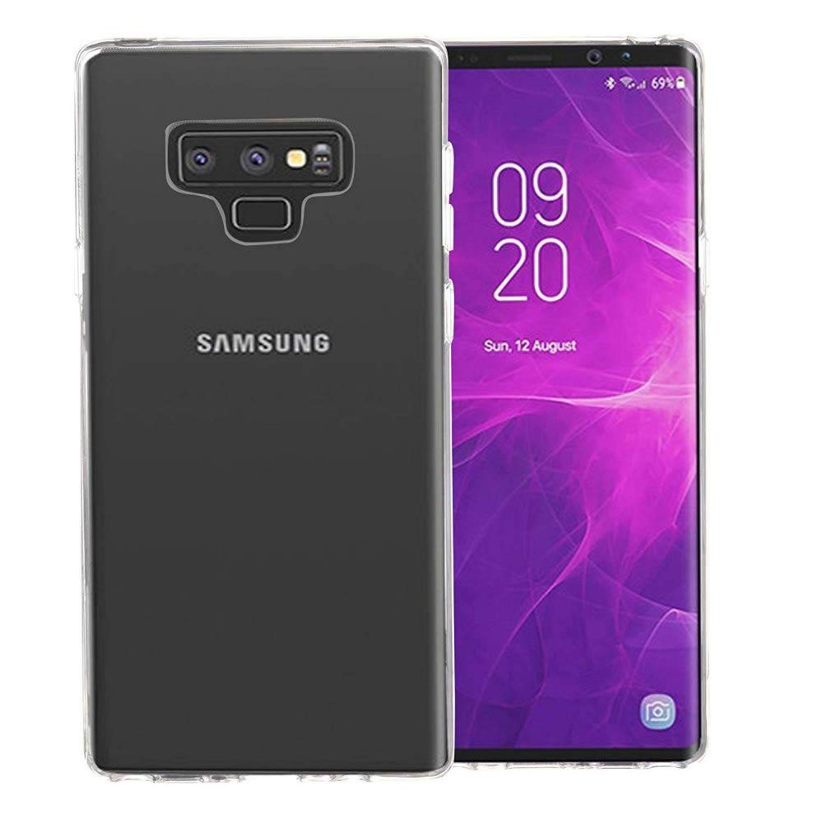 Colorfone Hoesje CoolSkin3T voor Samsung Galaxy Note 9 Tr. Wit