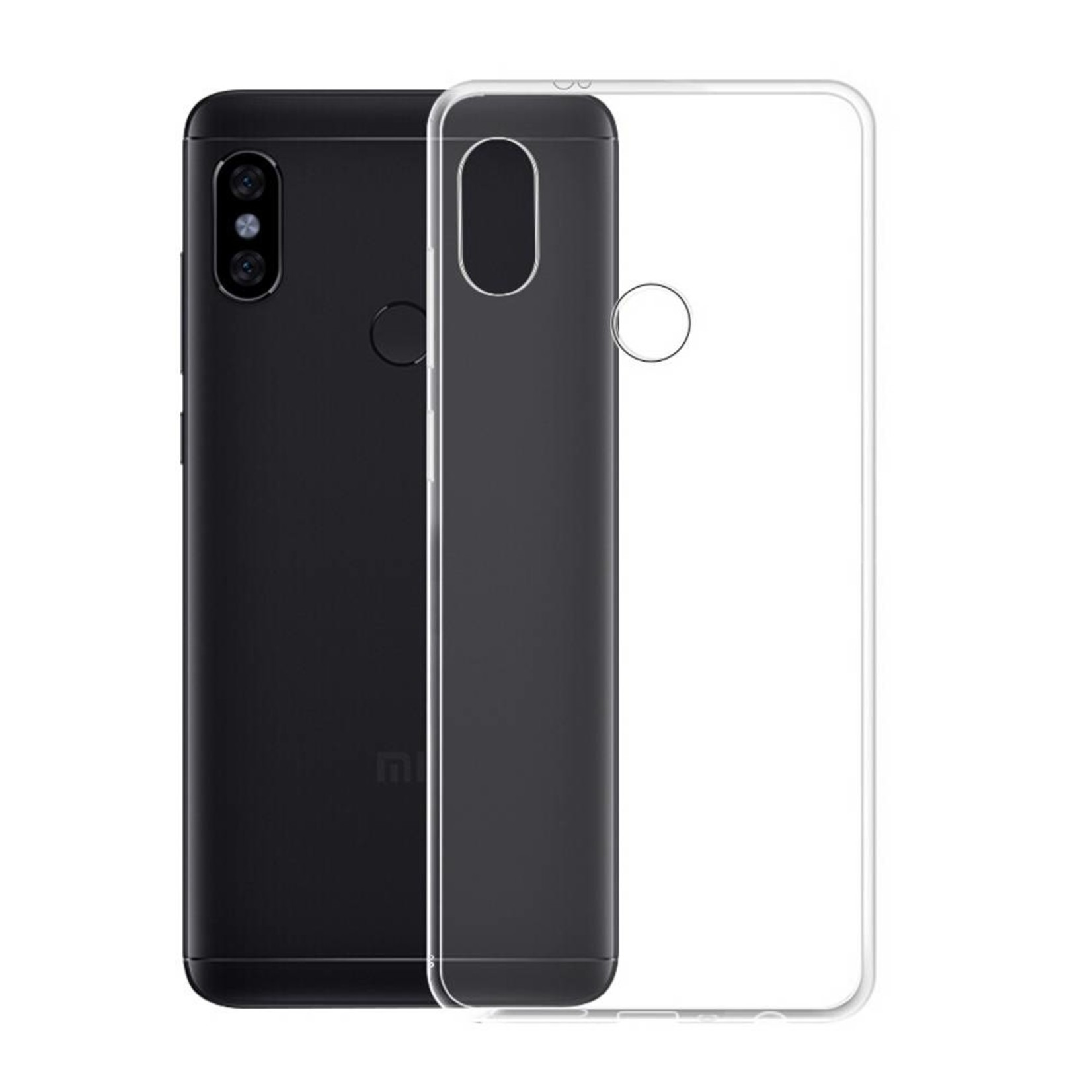Colorfone Hoesje CoolSkin3T voor Xiaomi MI 8 Transparant Wit