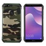 Colorfone Shockproof Army Y7 Prime 2018 Groen