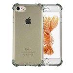 Colorfone Shockproof TPU 1.5mm iPhone 5/5S Transparant Zwart