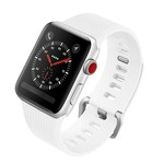 Colorfone Silicon Bandje 38 MM Apple Watch Wit