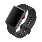 Colorfone Silicon Bandje 38 MM Apple Watch Zwart