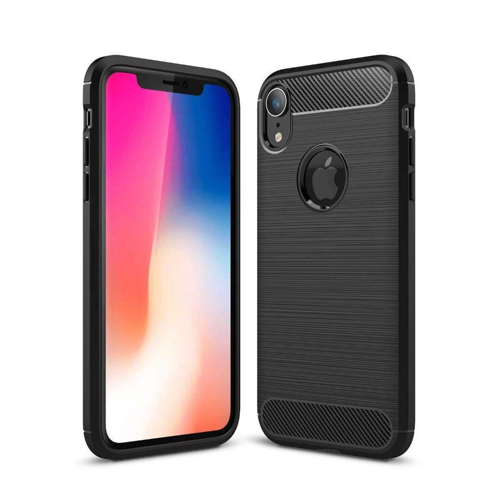 Colorfone Hoesje Armour 1 iPhone Xs Max Zwart