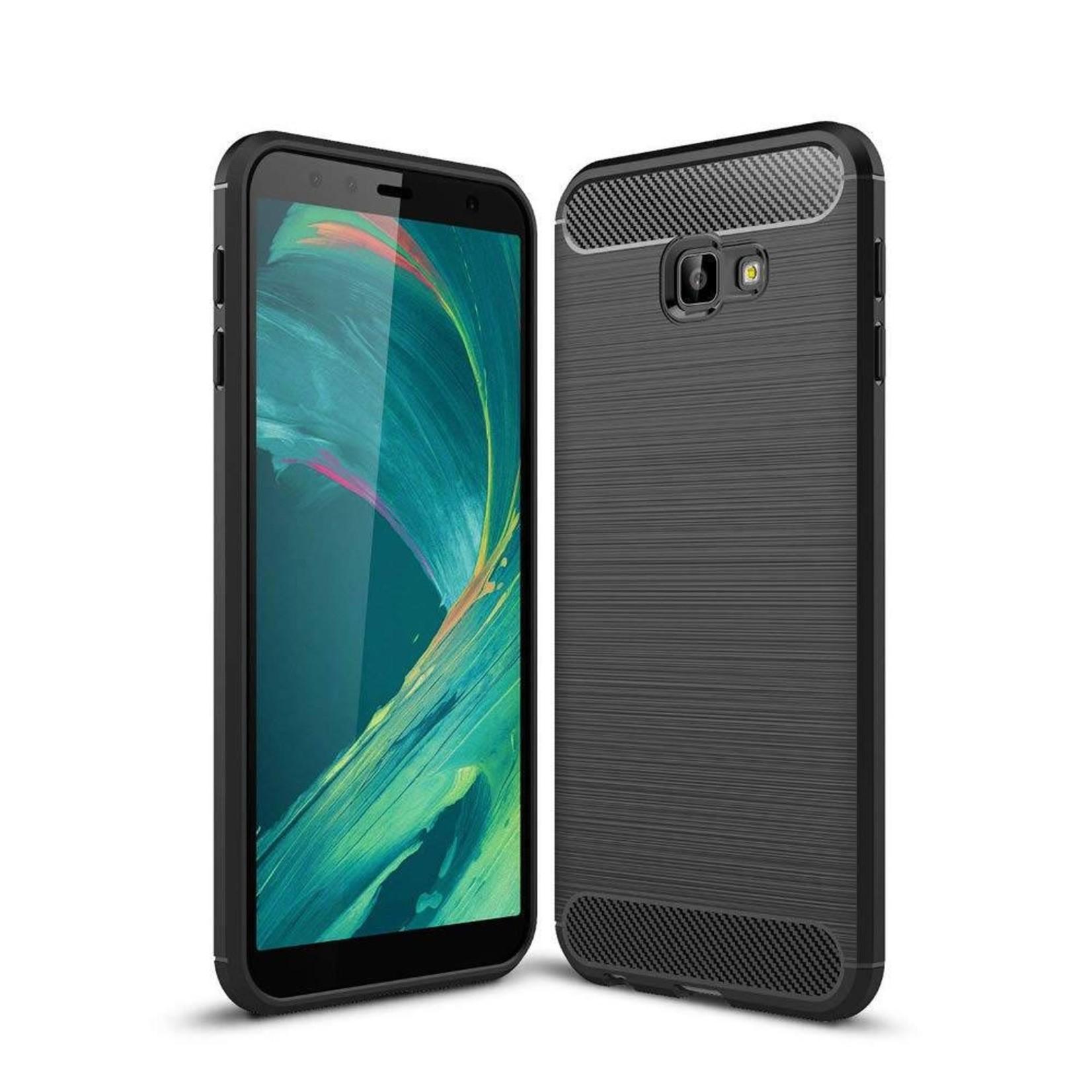 Colorfone Hoesje Armour 1 Samsung J4 Plus Zwart