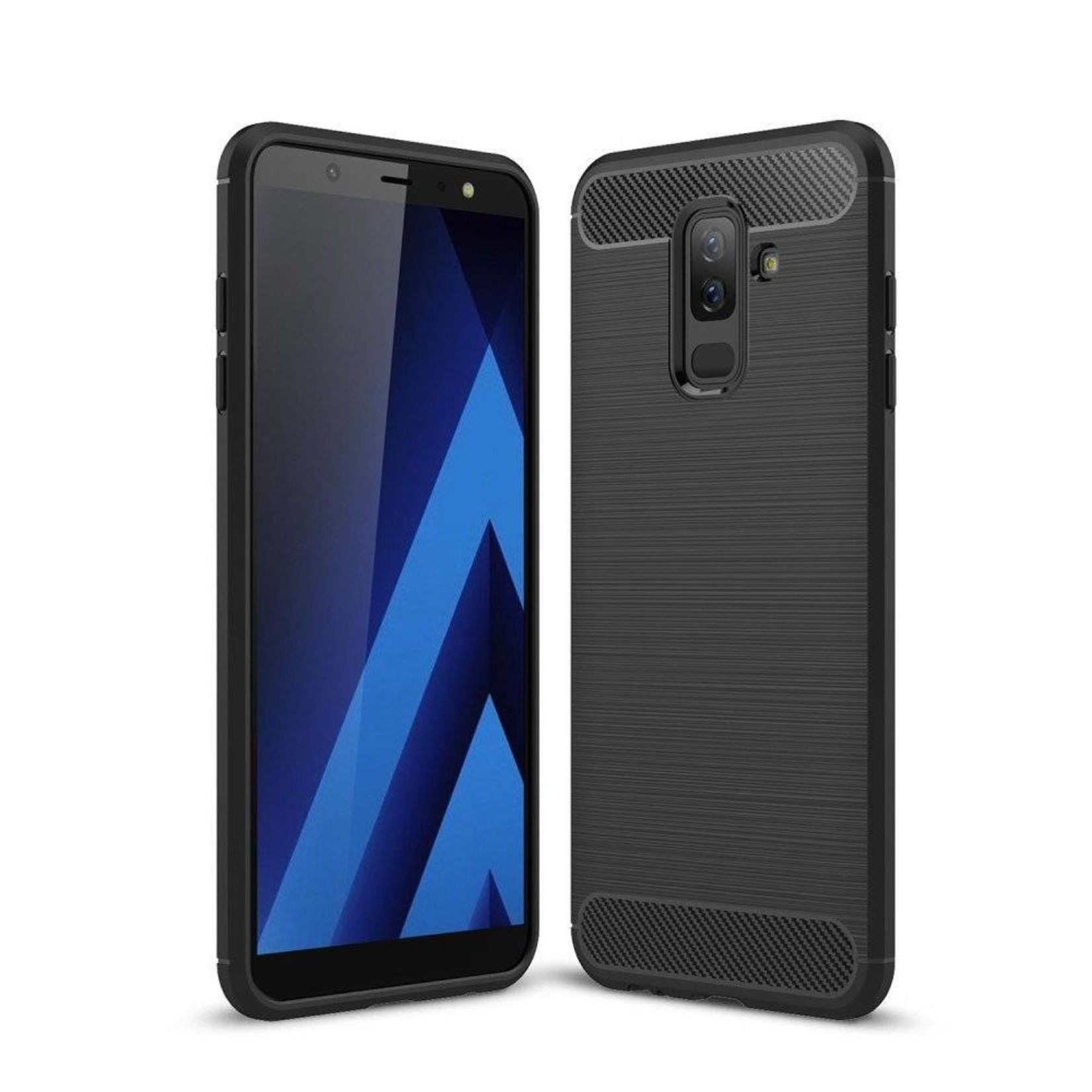 Colorfone Hoesje Armour 1 Samsung A6 Plus Zwart