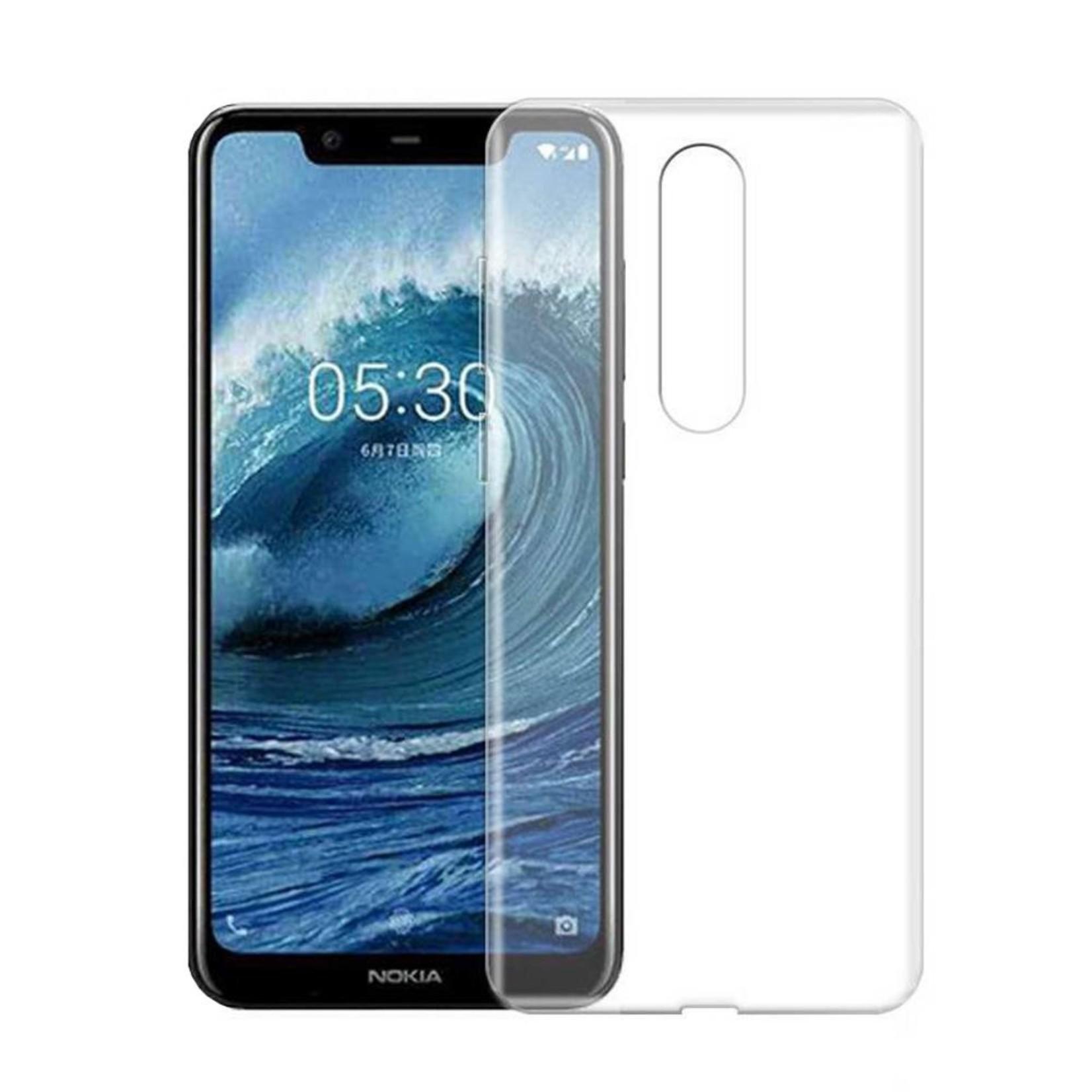 Colorfone Hoesje CoolSkin3T voor Nokia 5.1 Plus Tr. Wit