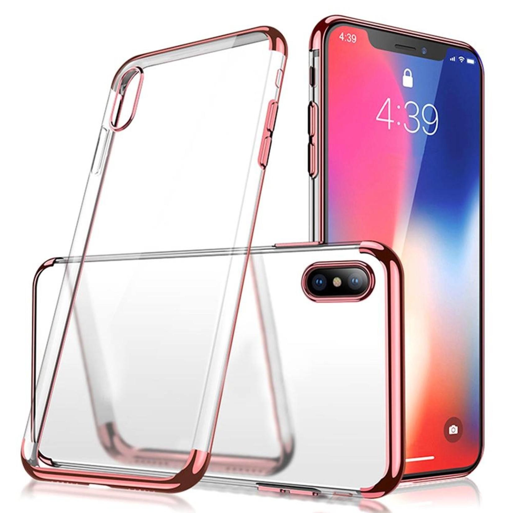 Colorfone Hoesje CoolSkin Bumper Clear voor Apple iPhone X/Xs Rosé Goud