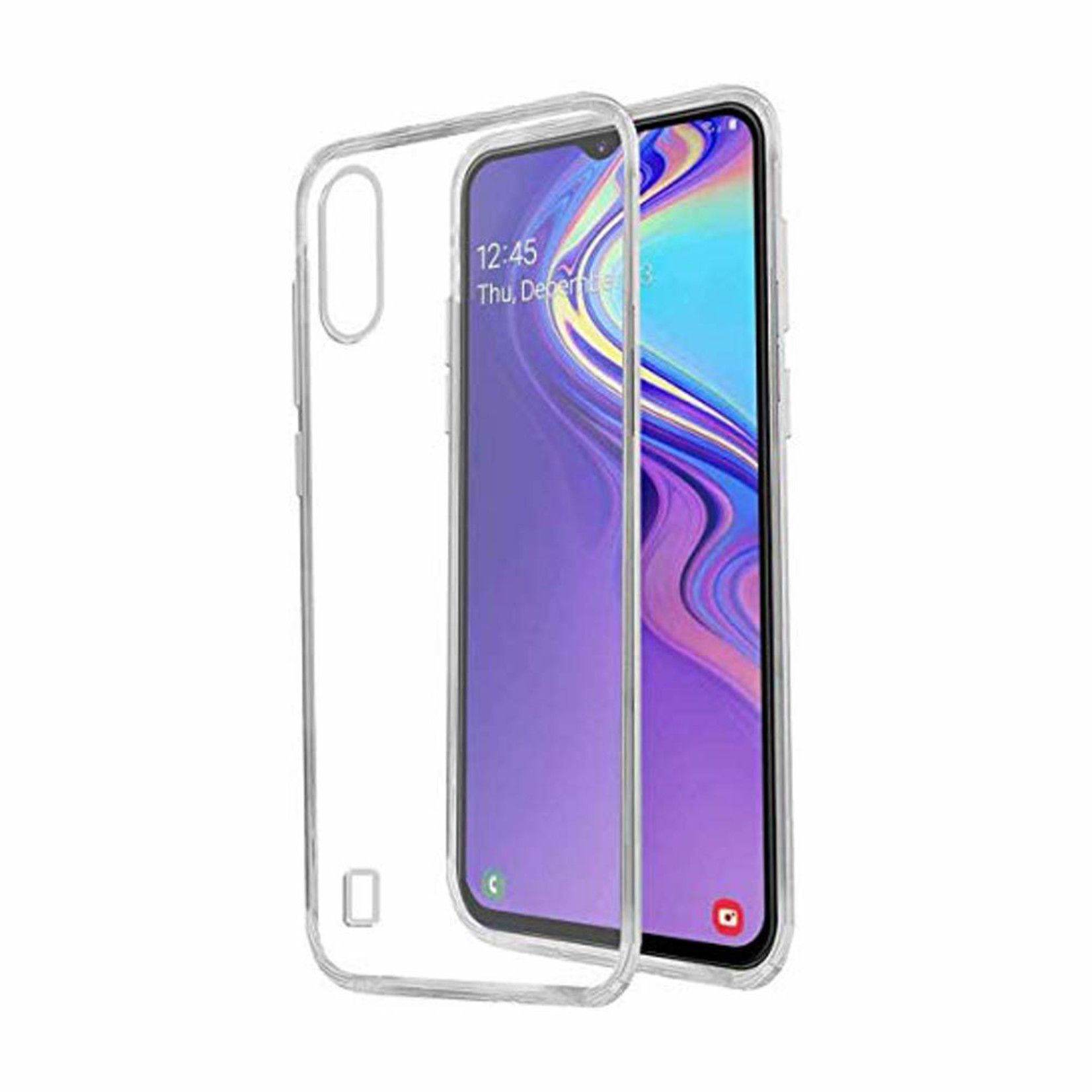 Colorfone Hoesje Coolskin3T voor Samsung M10 Transparant Wit