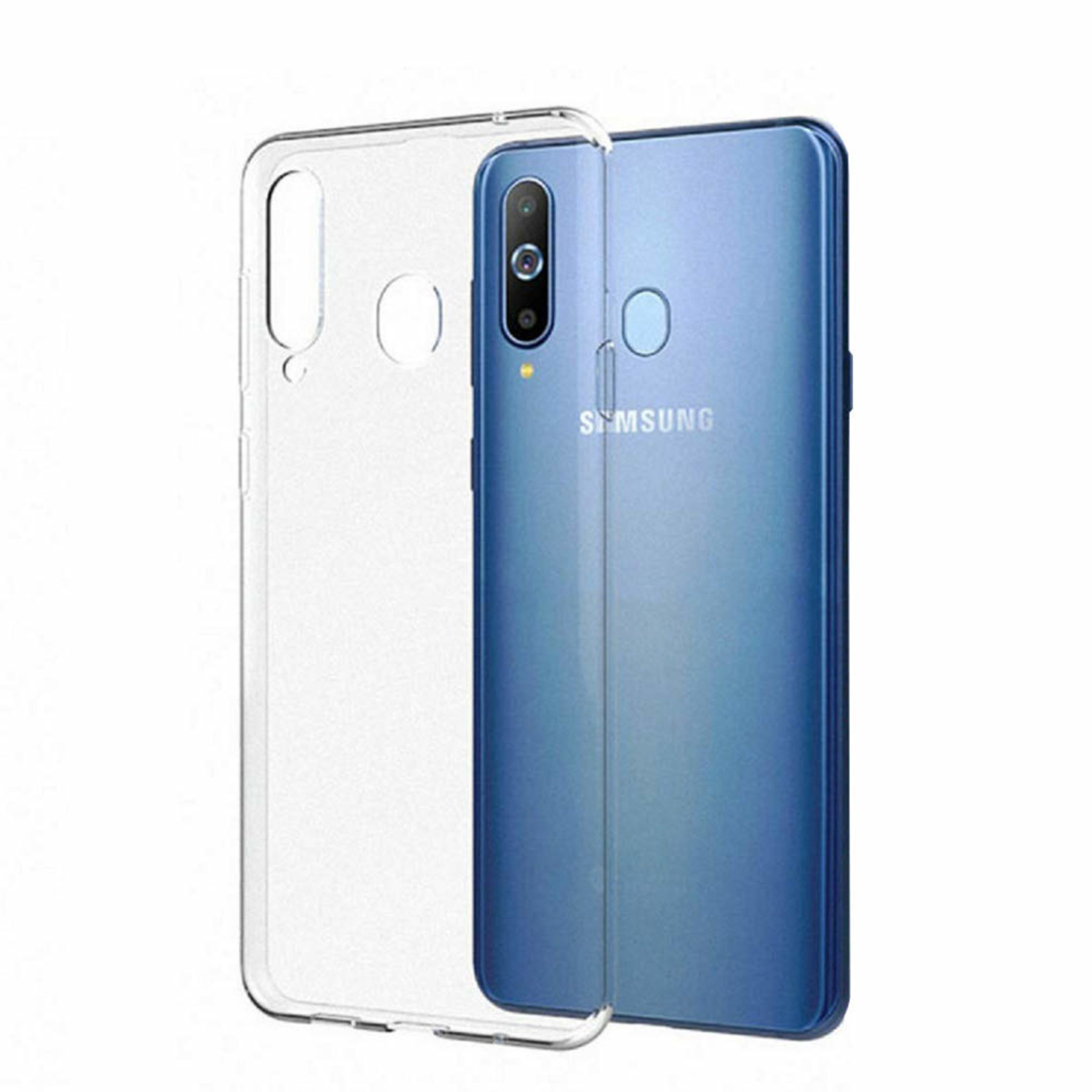 Colorfone Hoesje Coolskin3T voor Samsung M20 Transparant Wit