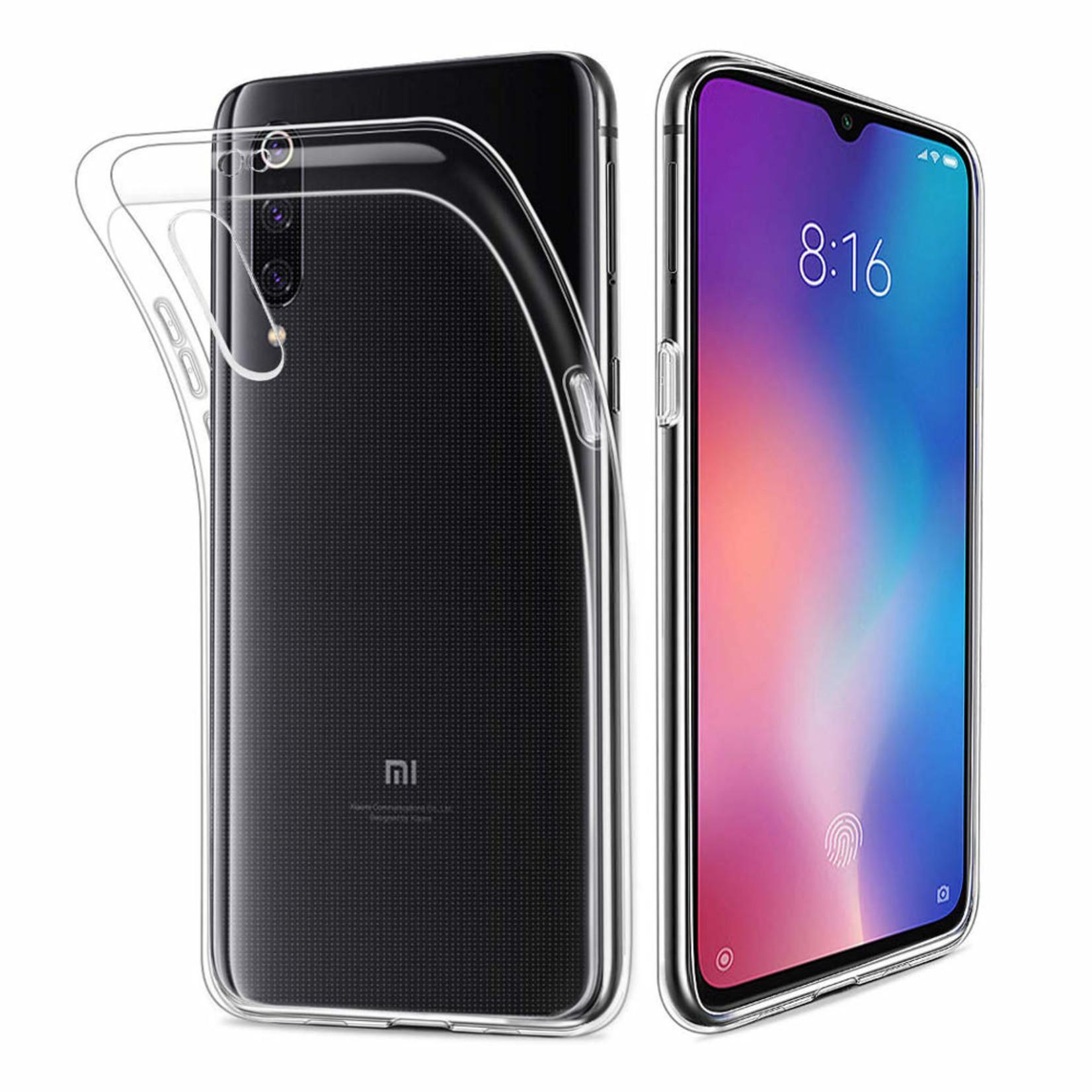 Colorfone Hoesje CoolSkin3T voor Xiaomi MI 9 Transparant Wit