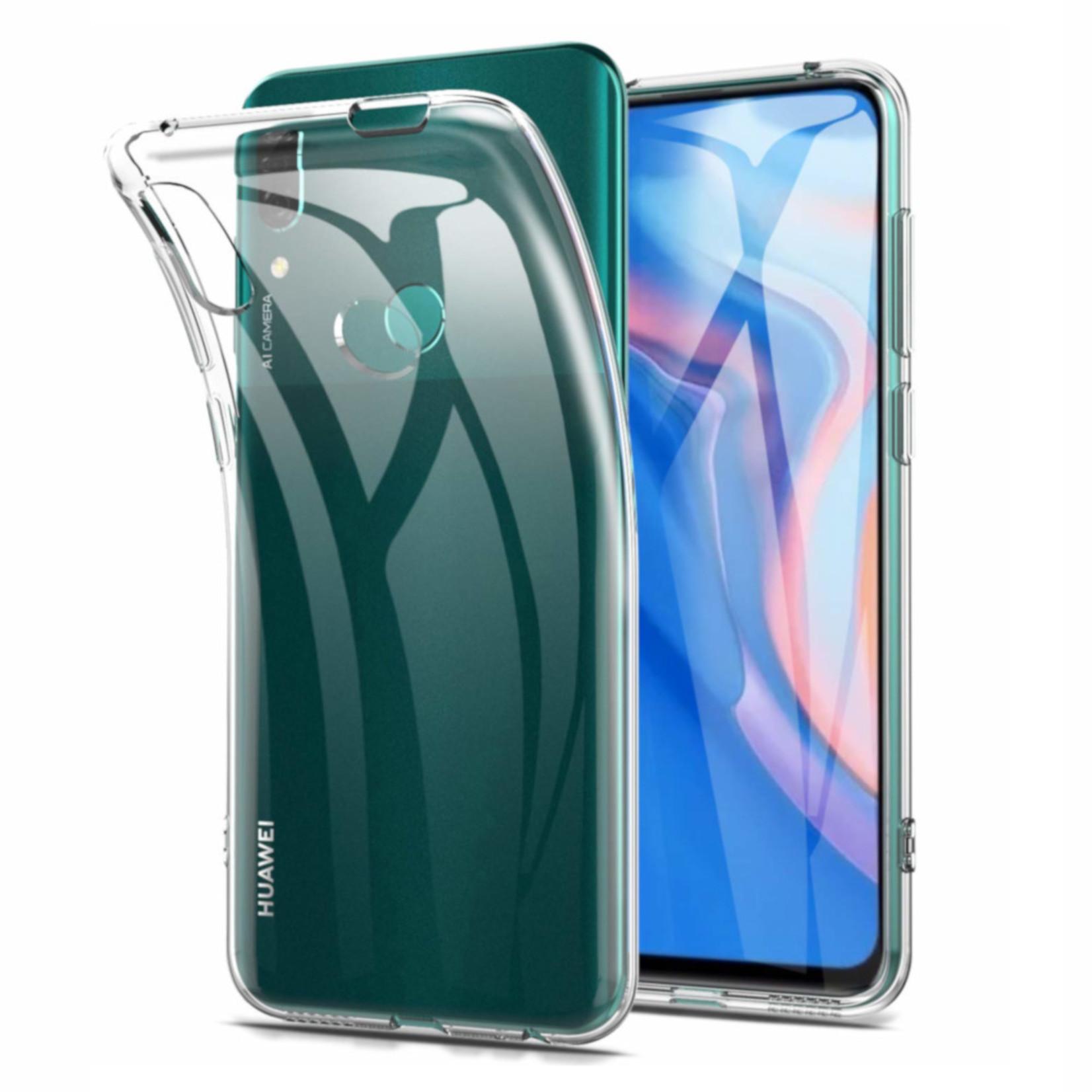 Colorfone Hoesje CoolSkin3T voor Huawei P Smart Z Tr. Wit