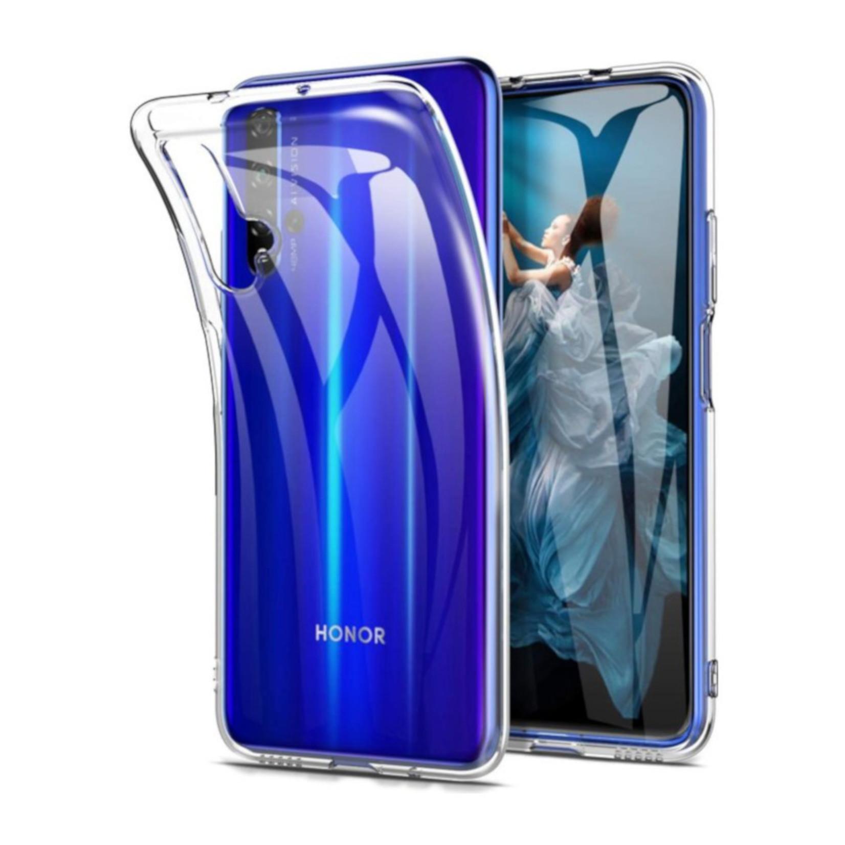 Colorfone Hoesje CoolSkin3T voor Huawei Honor 20 Tr. Wit