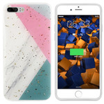Colorfone Marble Glitter iPhone 8/7 Grijs