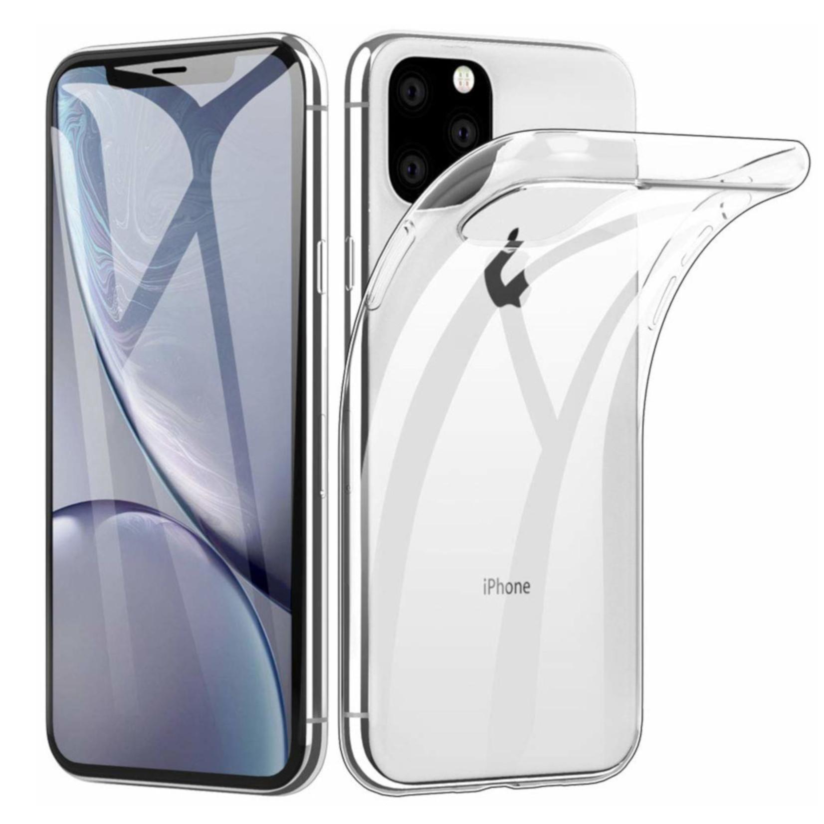Colorfone Hoesje CoolSkin3T voor Apple iPhone 11 Pro Max (6.5) Tr. Wit