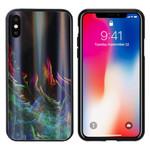 Colorfone Aurora Glass iPhone X/XS Groen