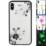 Colorfone Magic Glass iPhone X/XS Bloem1