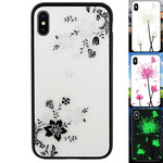 Colorfone Magic Glass iPhone Xs Max Bloem1