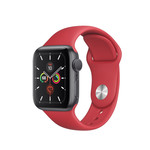 Colorfone Silicon Bandje 42/44 MM Apple Watch Rood