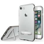 Colorfone Kickstand iPhone 8 Plus/7 Plus Transparant Zwart