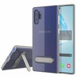 Colorfone Kickstand Note 10 Plus Transparant Zilver