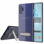 Colorfone Kickstand Note 10 Plus Transparant Zwart