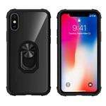 Colorfone Ring iPhone X/XS Transparant Zwart