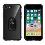 Colorfone Ring iPhone 8 Plus/7 Plus/6 Plus Transparant Zwart