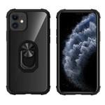 Colorfone Ring iPhone 11 (6.1) Transparant Zwart