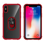 Colorfone Ring iPhone X/XS Transparant Rood