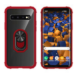 Colorfone Ring S10 Plus Transparant Rood