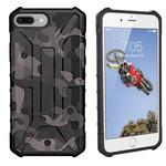 Colorfone Shockproof Army iPhone 8/7/6 Zwart