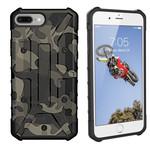 Colorfone Shockproof Army iPhone 8 Plus/7 Plus/6 Plus Groen