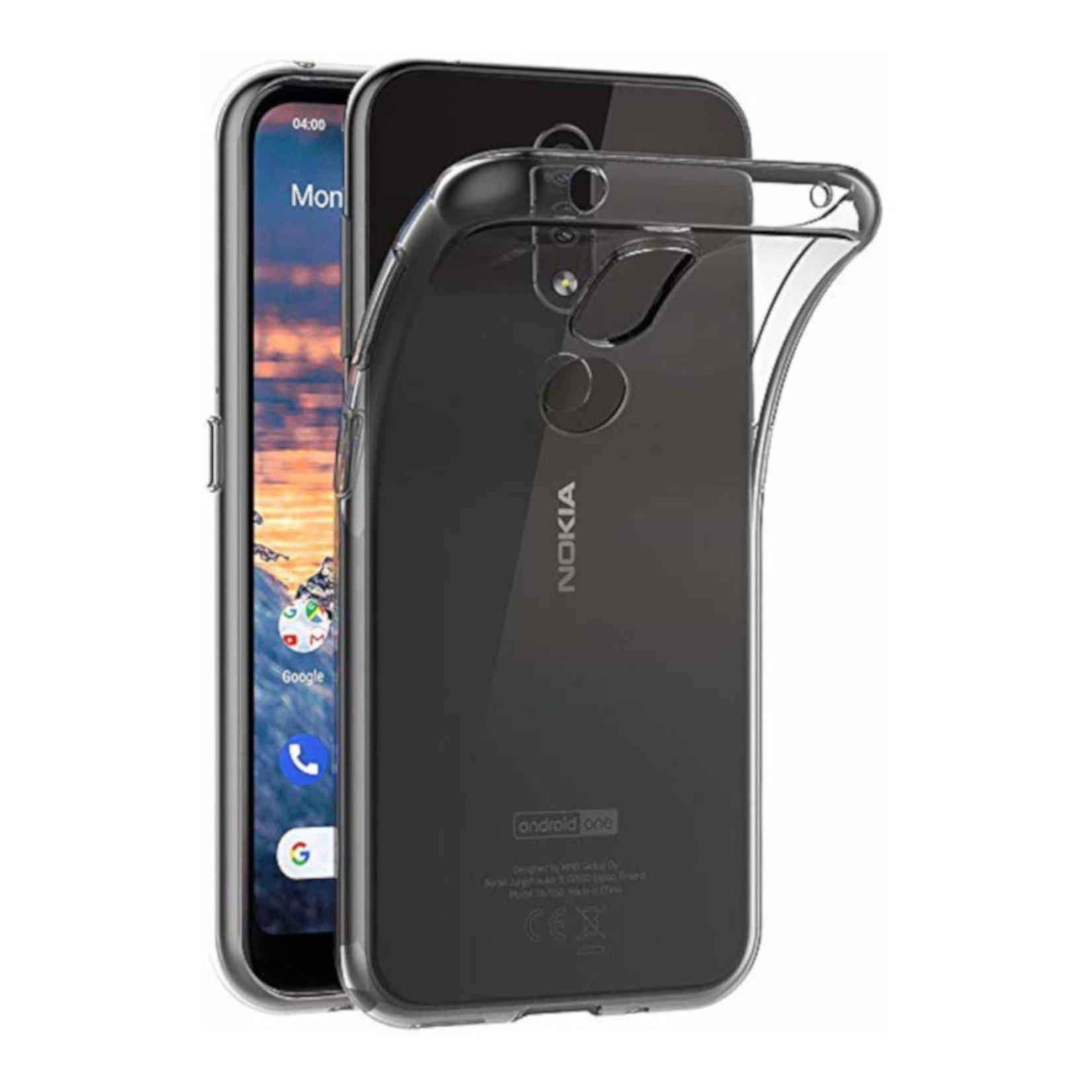 Colorfone Hoesje CoolSkin3T voor Nokia 4.2 Tr. Wit