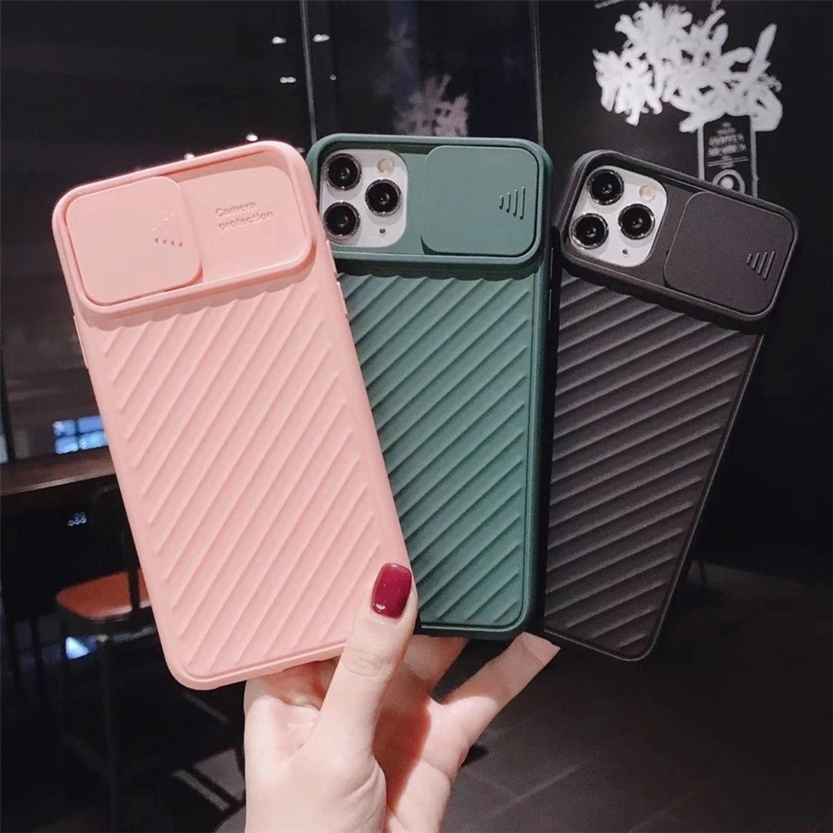 Colorfone Hoesje CamShield Apple iPhone 11 (6.1) Zwart