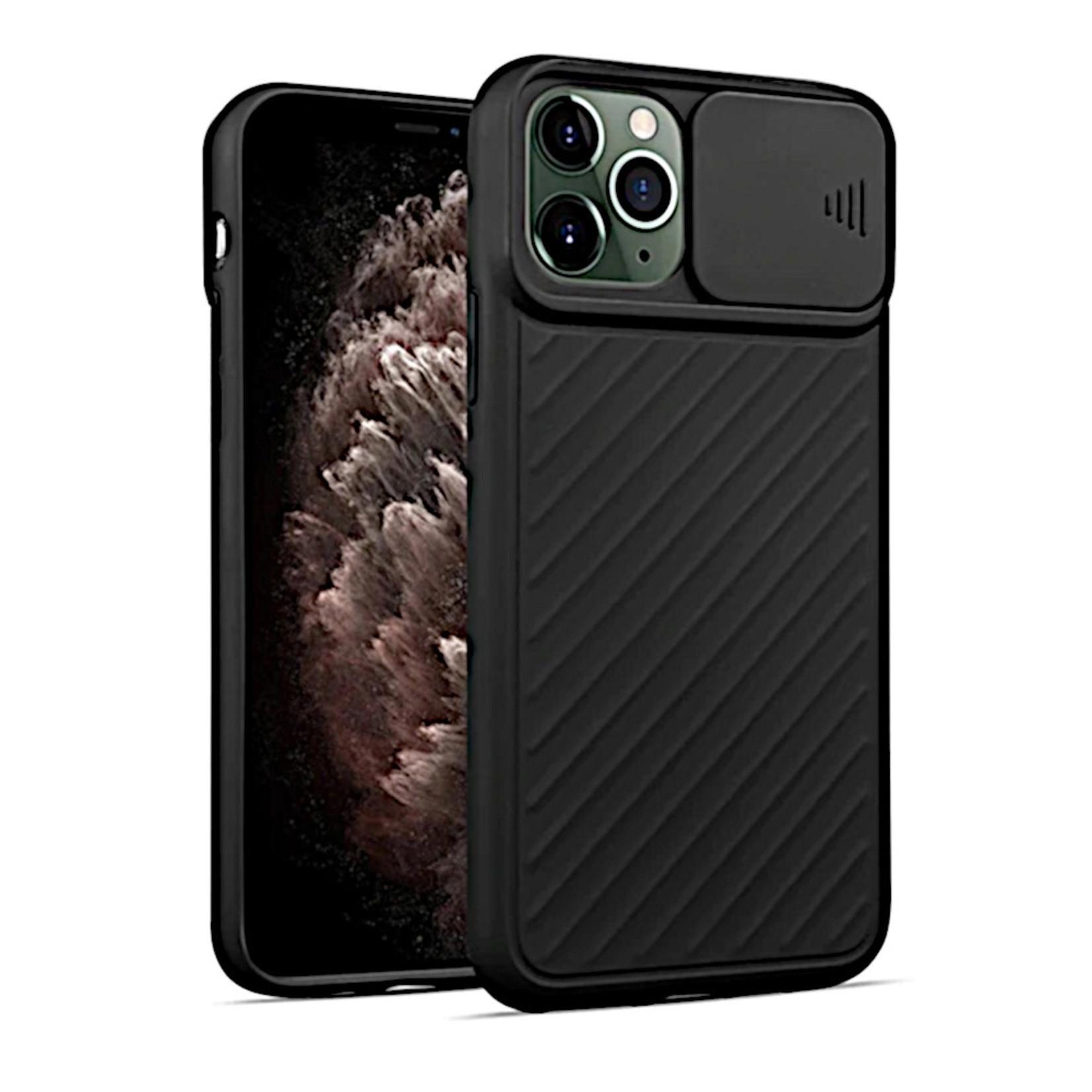 Colorfone Hoesje CamShield Apple iPhone 11 Pro (5.8) Zwart